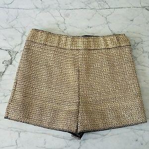 GOLD Metallic Ark & Co Shorts M